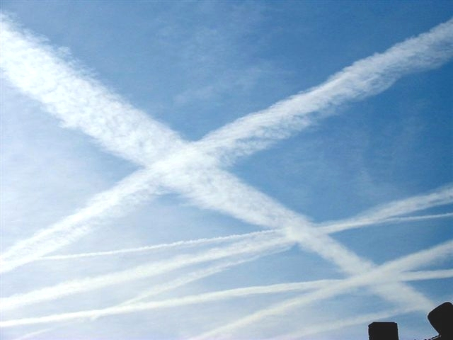 Free Party Sprayed By High Dose of Chemtrails in Plymouth